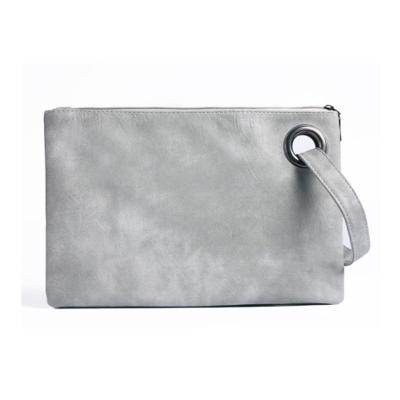 Women's Large Capacity Lightweight Leather Zipper Closure Hand Bags