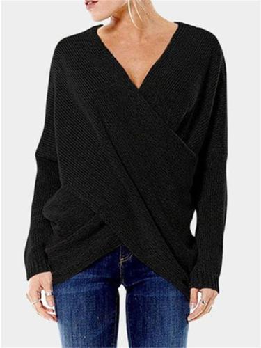 Irregular Sweater Pullover
