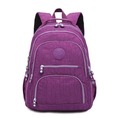 Practical Travel Outdoor Washable Nylon Large Capacity Backpack