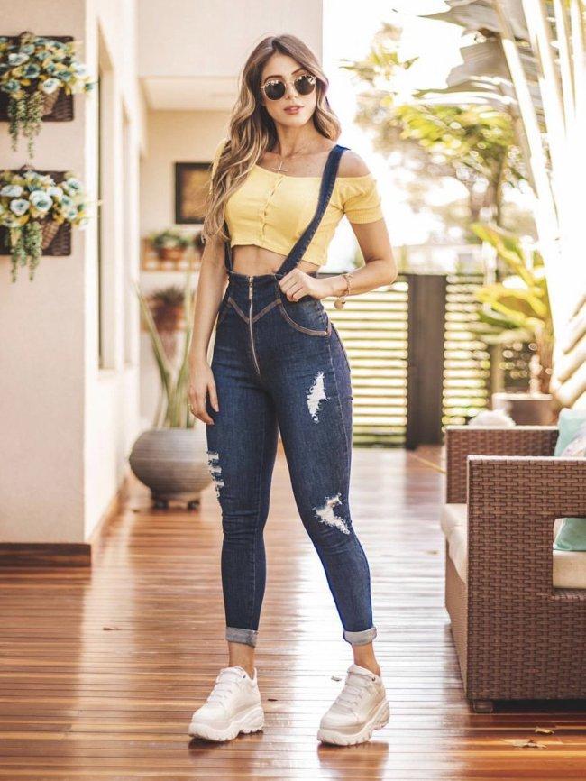 Women's Sexy High Waist Skinny Jeans