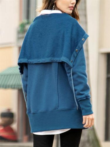 Loose Casual Sweater Coats
