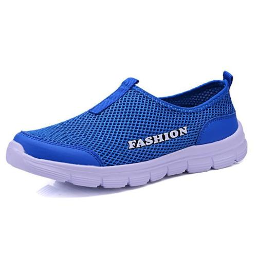 Unisex Ultra Cozy Casual Breathable Mesh Flat Slip-on Shoes