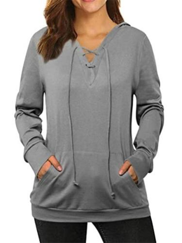 Extra Cozy Pullover Hooded Sweatshirt with Front Pocket