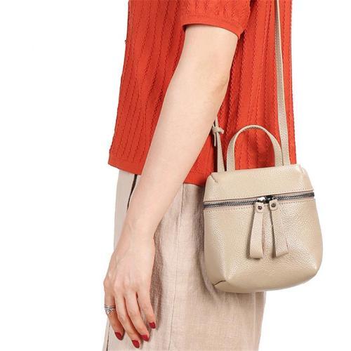 Women's Minimalist Solid Color Crossbody Bags