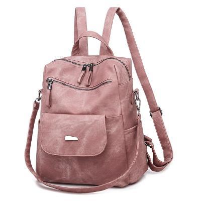 Casual Versatile Multi Pocket Lightweight Crossbody Backpack