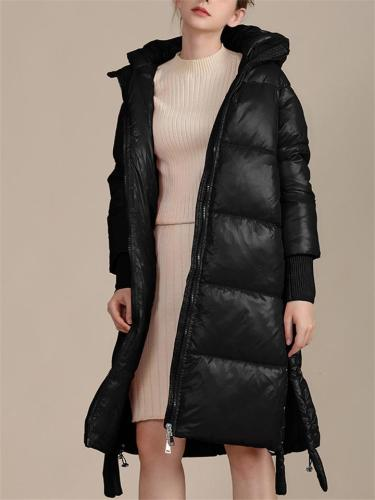 Relaxed Fit Ultra Warm Long Padded Coat