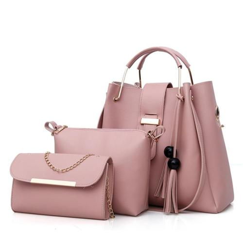 Fashion 3 Piece Tote Bag Crossbody Bag Handbag