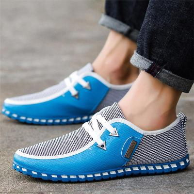 Breathable Lightweight Low-Cut Lace-Up Non Slip Walking Shoes
