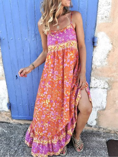 Cotton Sleeveless Boho Dresses