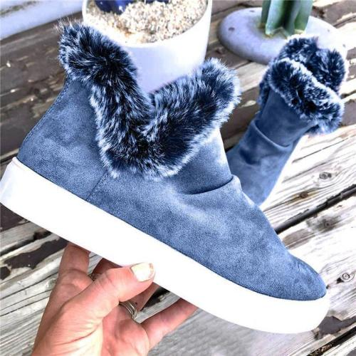 Women's Ultra-Warm Thick Bottom Suede Ankle Boots