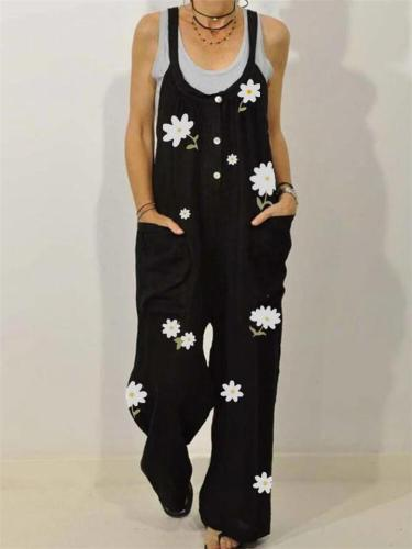 Loose Casual Jumpsuit For Women
