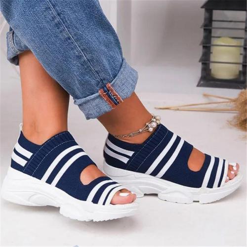Women Breathable Comfy Slip-On Sports Sandal