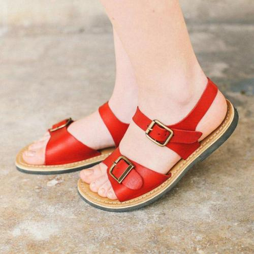 Casual Summer Buckle Strap Women Holiday Sandals