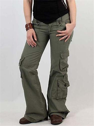 Fashion Streetwear Cargo Pants with Multi Pockets