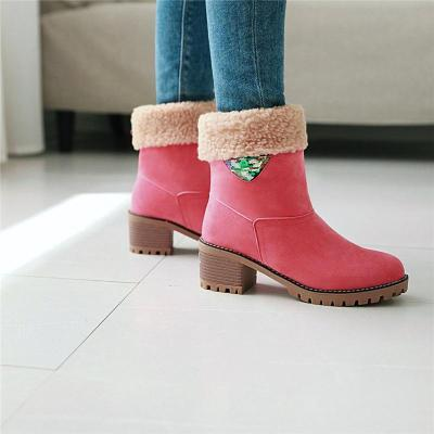 2018 New Arrival Women Martin Boots With Warm Fur For Winter