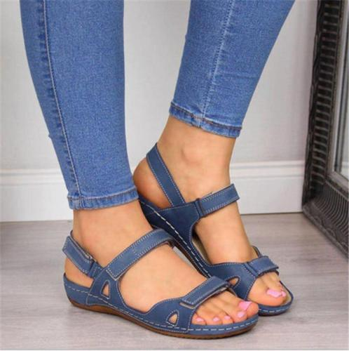 Women's Plus Size Comfy Summer Sandals
