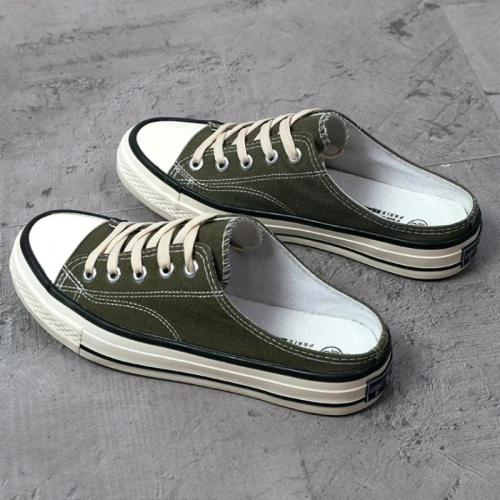 Summer New Arrival Cute Slip-on Canvas Sneakers