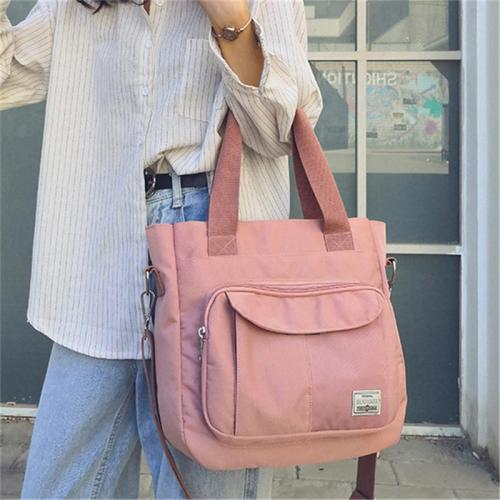 Large Capacity Waterproof Zipper Shoulder Crossbody Bag
