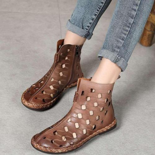 Summer Comfy Vintage Hollow Boots