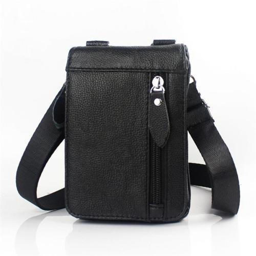 Men's Retro Genuine Leather Outdoor Waist Belt Bag