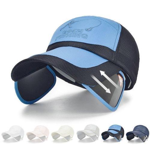 Summer Vogue Mesh Baseball Hat Outdoor Sports Breathable Visor Cap