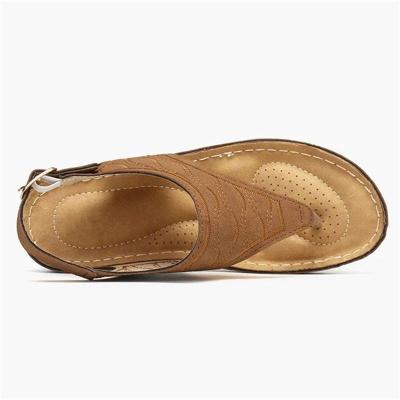 Lightweight Wedge Heel Flip Flops Soft Footbed Non-Slip Sandals