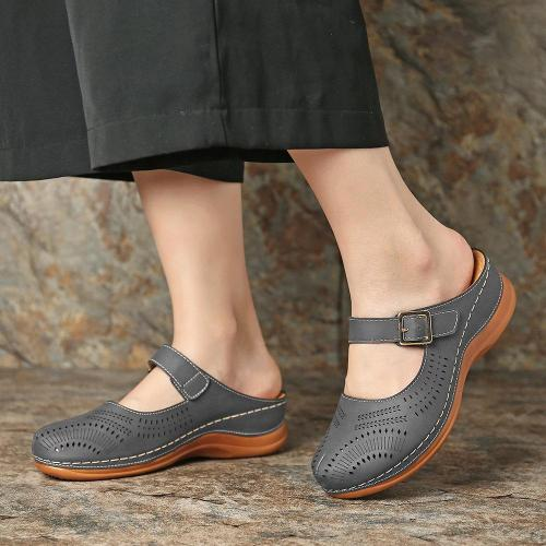 Women's Elegant Vintage Style Comfort Platform Sandals