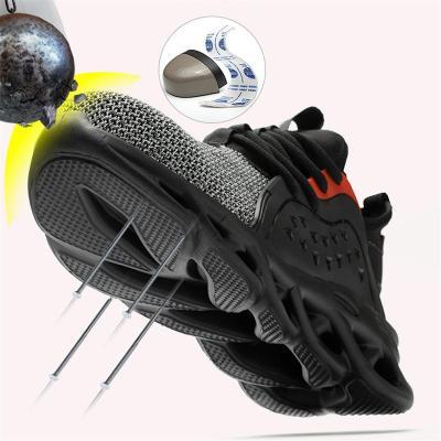 Breathable Puncture Resistance Industrial Construction Shoes