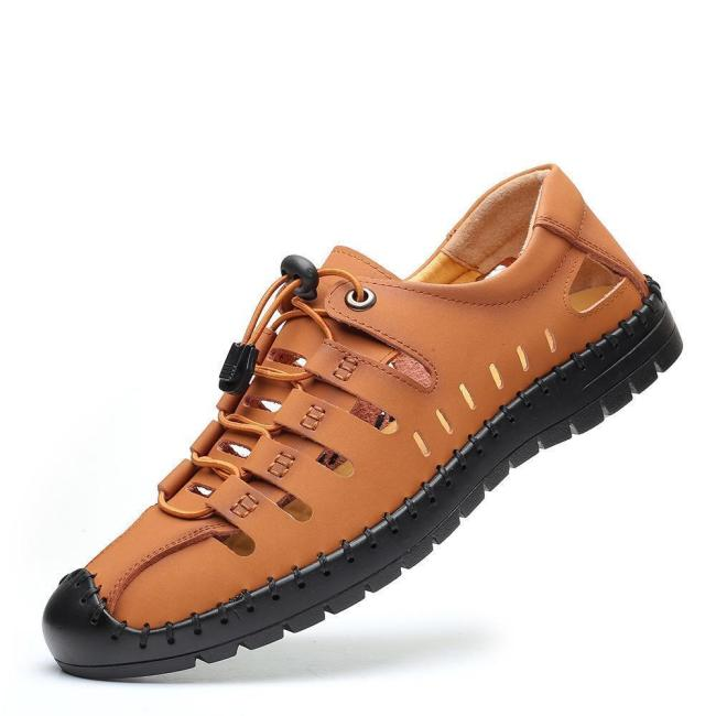 Lightweight Breathable Hand Stitching Casual Sandals For Men
