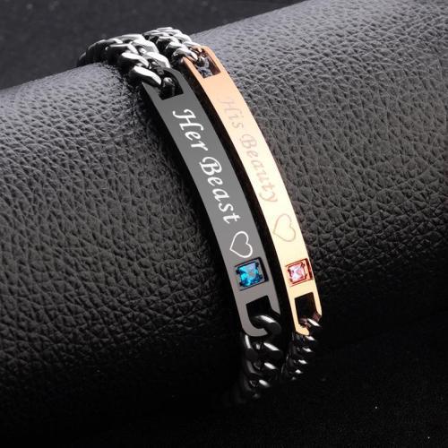 Pretty Stainless Steel Love's Bracelets