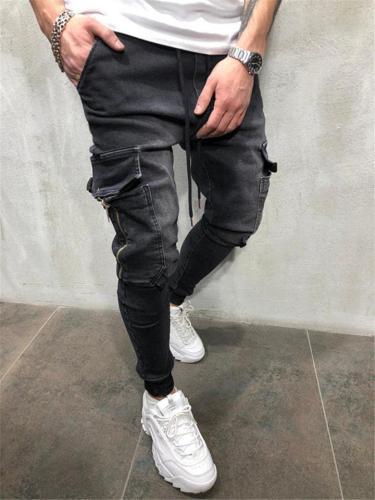 Men's Cool Style Casual Denim Pants