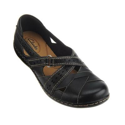 PU Slip-on Closed Toe Wide Fit Loafers