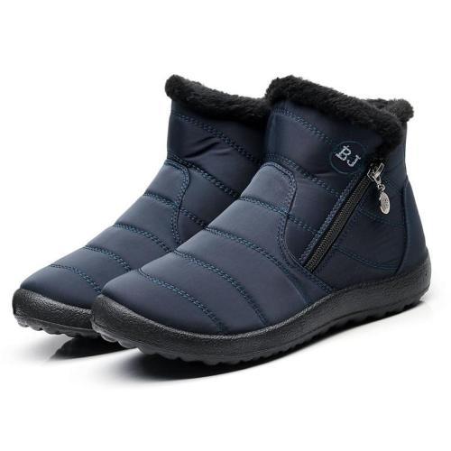 Women's winter waterproof cotton boots
