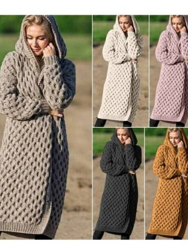 Women's Fashion Long Sweater Outerwear For Winter