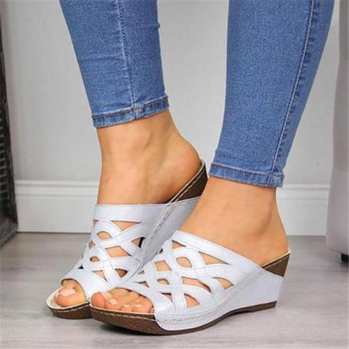 Women Chunky Heel Elegant Comfy Sandals