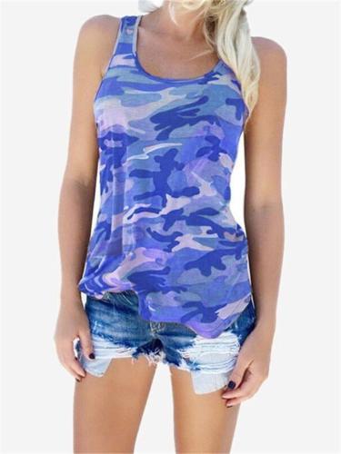 Fashion Camouflage Vest