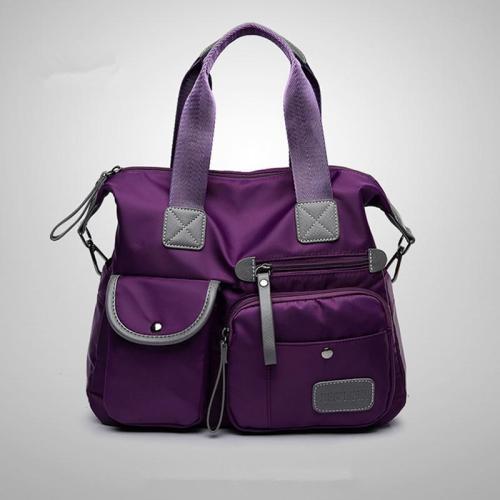 Women's Nylon Waterproof Large Capacity Handbag
