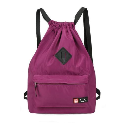 Nylon Casual Waterproof Backpack For Women And Men