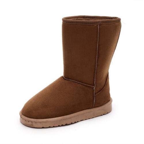 Winter Women Warm Plush Lined Flat Snow Boots