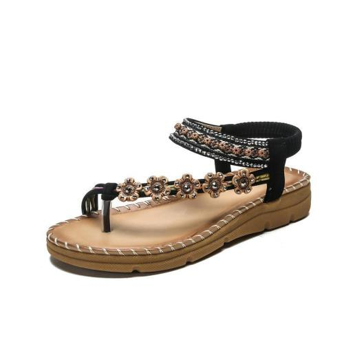 Non-slip Comfortable Large Size Bohemian Beach Sandals