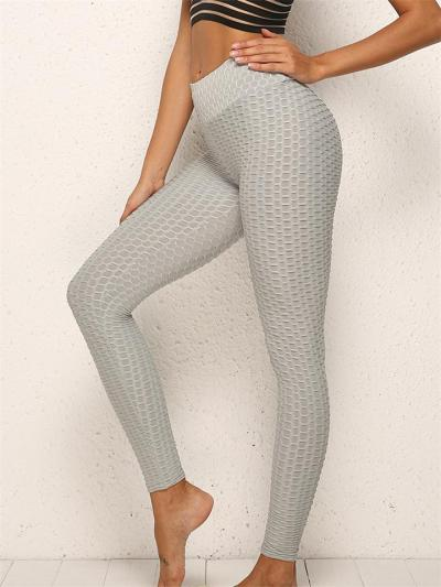 Anti-Cellulite Booty Lifting Honeycomb Leggings for Women