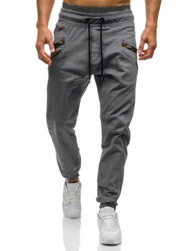 Comfortable Elastic Waist Drawstring Pocket Cargo Pants