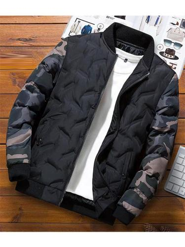 Men's Fashion Camouflage Warm Cotton Jacket