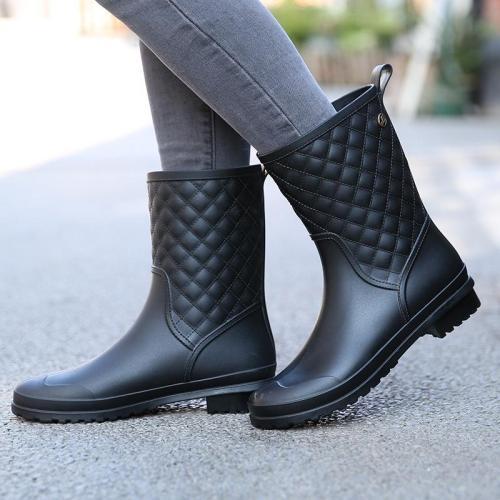 Women's Cool Fashion Ankle Rain Boots