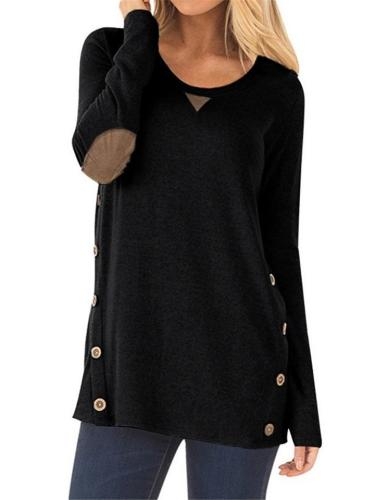 Ultra Comfortable Round Neck Long Sleeve Shirt