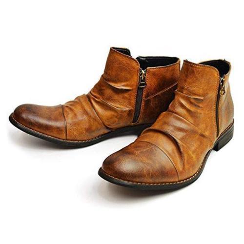 Men's Vintage Casual Ankle Boots