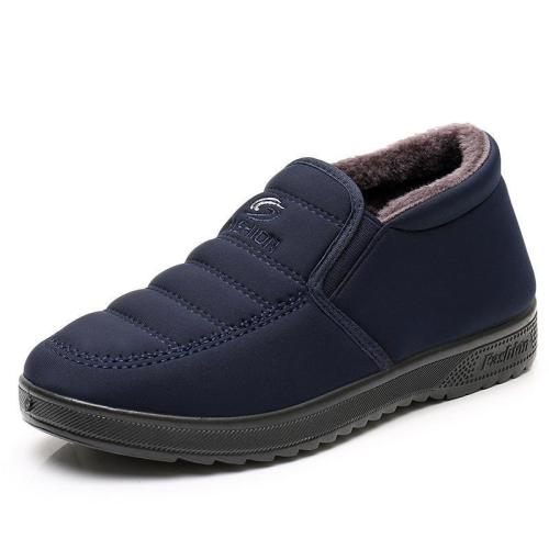 Winter Warm Cotton Lined Comfy Casual Shoes