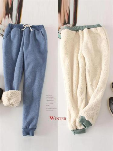 Women's Winter Warm and Comfy Fleeced Cotton Pants