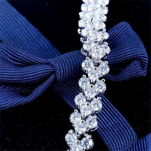 Shiny Zircon Buckle Adjustable Romanian Style Bracelet
