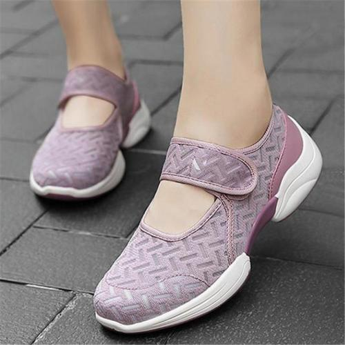 Casual Breathable Soft Footbed Lightweight Mesh Walking Shoes